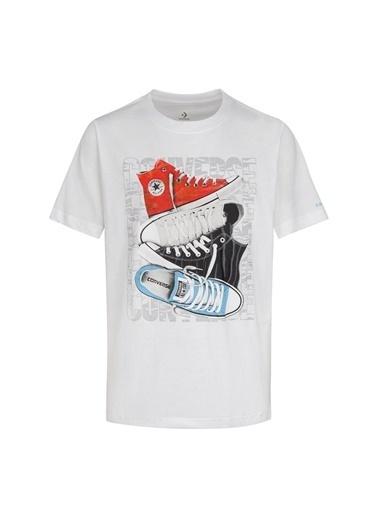 Converse Converse Beyaz T-Shirt Beyaz